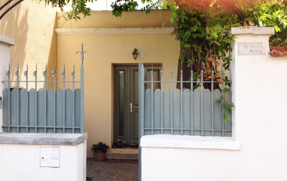 Extension Maison à Montchat : Portail