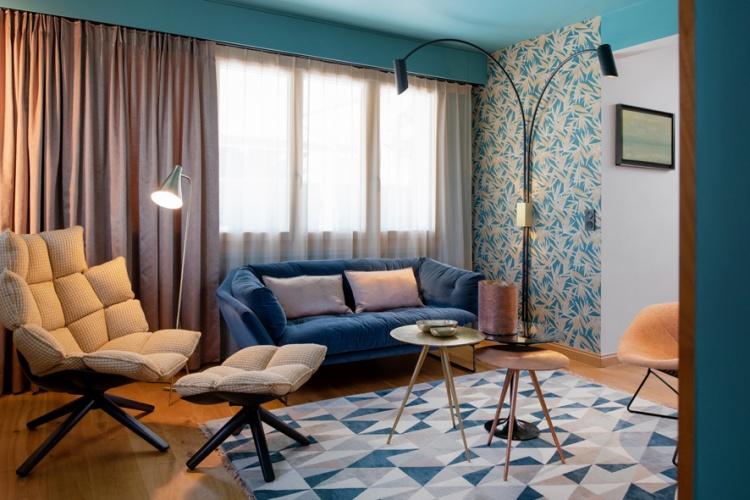 Villa M : Salon Bleu