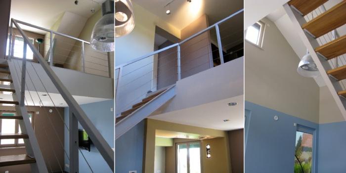 rénovation et aménagement Contemporain complet d'une partie d'une maison : jerome_striby_limonblue_architecture_interieure_design_lyon