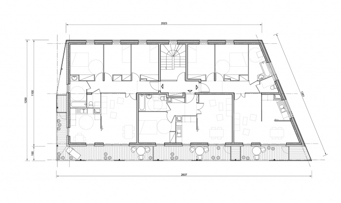 30 logements locatifs sociaux en BBC : plan 100