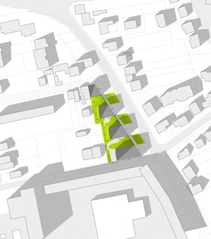 30 logements locatifs sociaux en BBC : PLAN DE MASSE DEFINITIF copie