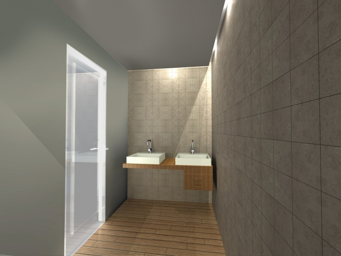 Atelier d'artiste : Salle de bain