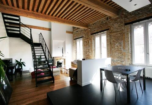 Rénovation d'un appartement à la Croix Rousse.