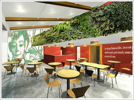 Concour  pour le café du Musée Gadagne.