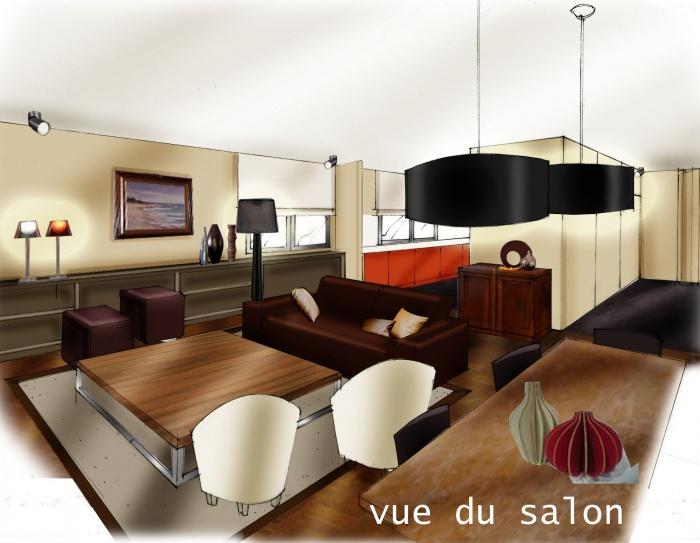 clin d'oeuil 70's : pers salon senac