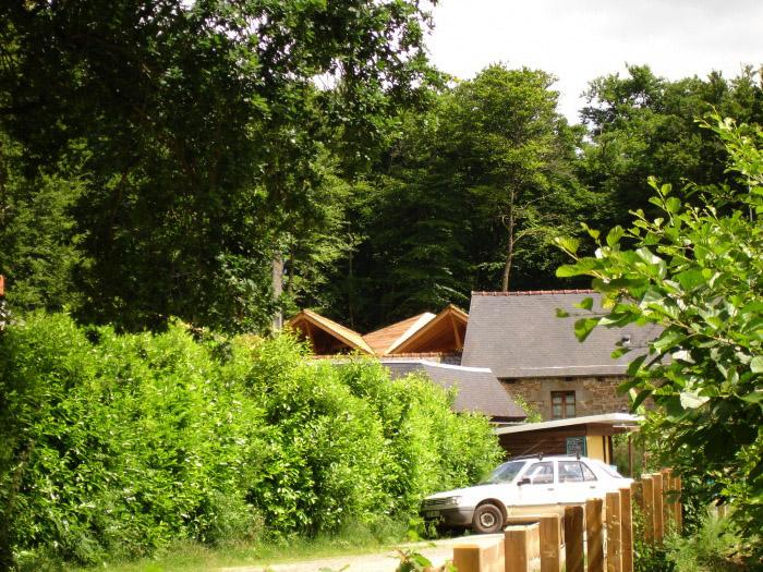 Préau en forêt de Villecartier (35) : ONF_4 juin 2008 055