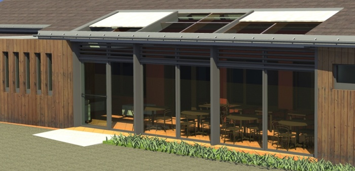 Extension de restaurant : n°3