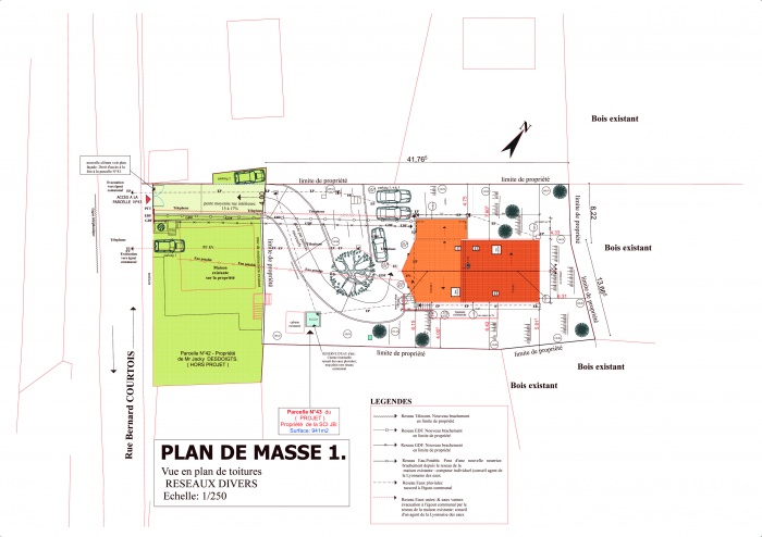 VILLA  Mr & Mme N'GOVINASSACK : Plan de Masse