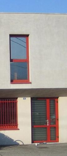 Surélévation bâtiment de bureaux : Façade de l'existant avant projet