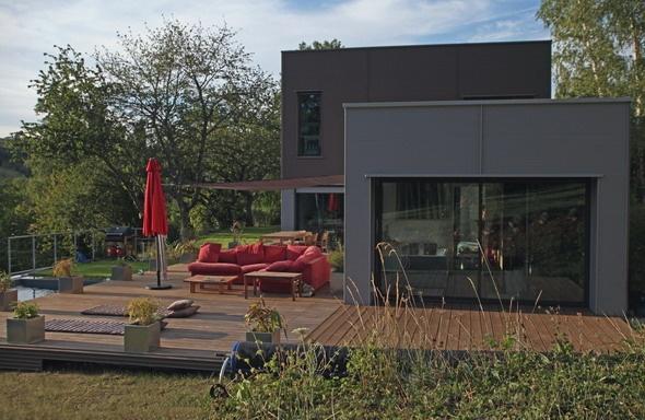 Maison contemporaine HQE