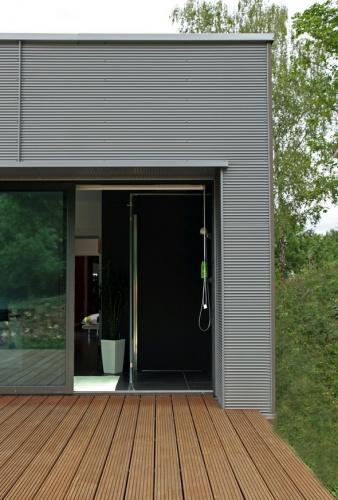 Maison contemporaine HQE : texL11