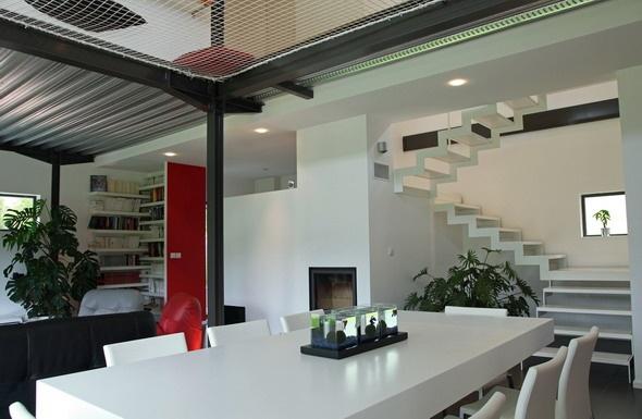 Maison contemporaine HQE : texL17