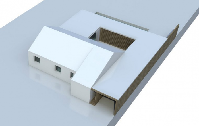 Re-interprétation pavillonnaire : SketchUp3