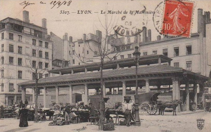 Halle de La Martinière : 1_photo archive_cp