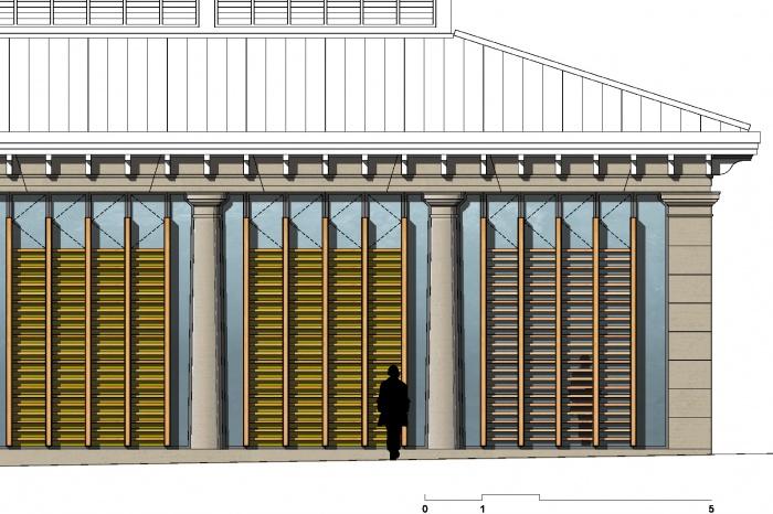 Halle de La Martinière : 6_bc1114_esq_b1_extrait façade V1 F