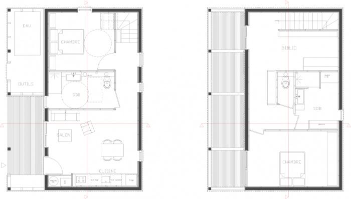 Interprétation pavillonnaire : duplex