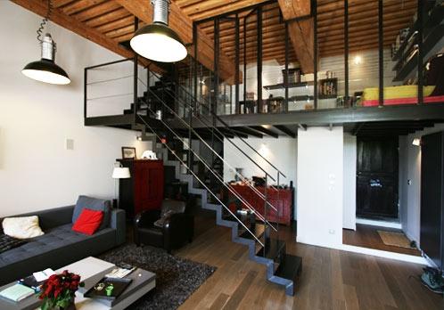 Rénovation appartement avec plusieurs niveaux