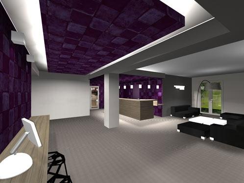 Rénovation d'un hotel : vue2
