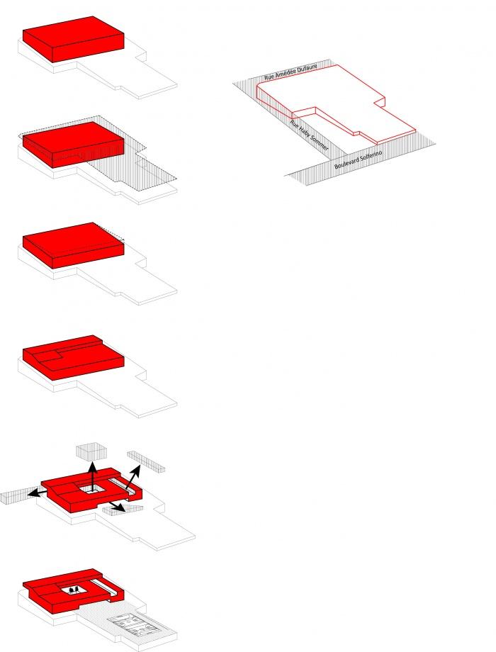 Reconstruction du Collège Marcel Pagnol : schemas
