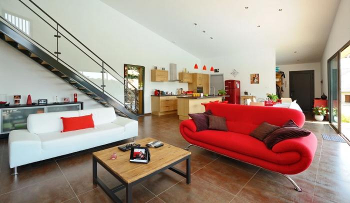 Maison contemporaine bois & ouate de cellulose / Basse énergie : 12_PARA