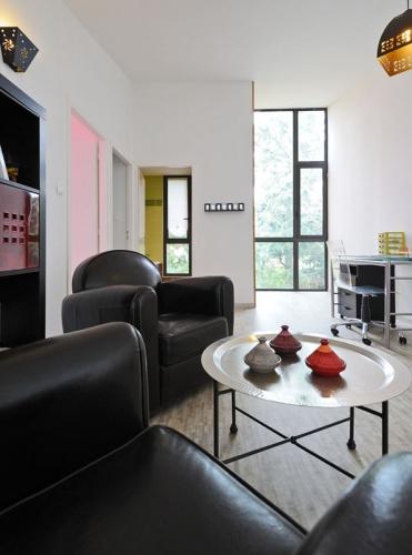 Maison contemporaine bois & ouate de cellulose / Basse énergie : 18_PARA