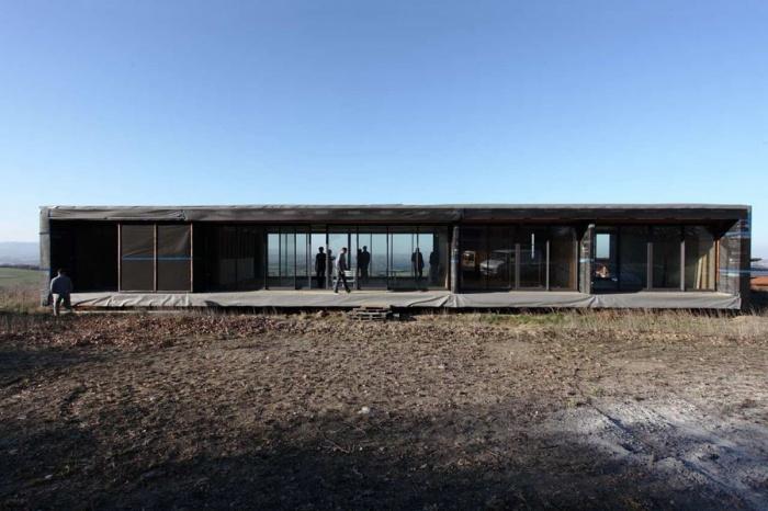 Maison contemporaine bois & paille : oikos_echalas_01