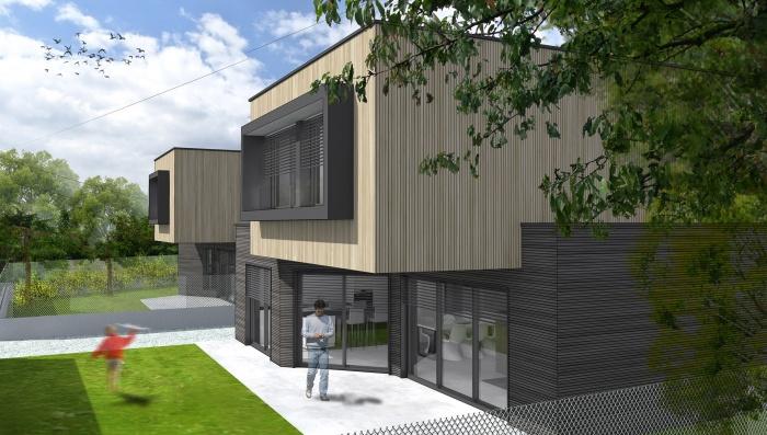 2 maisons contemporaines BBC