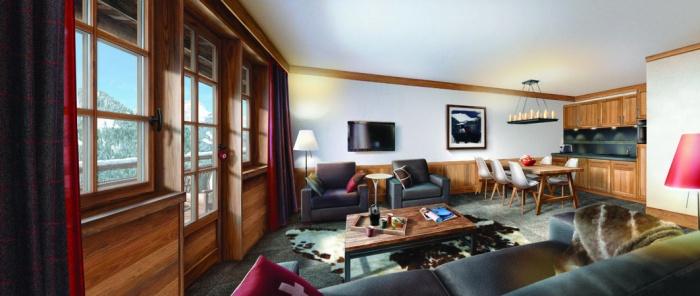 Les Fermes de Chatel - résidence de tourisme 4* : Appartement