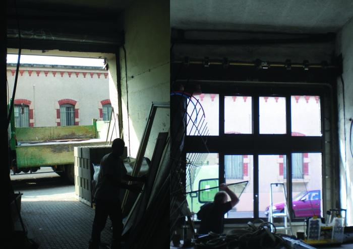 Loft : façade intérieur copie