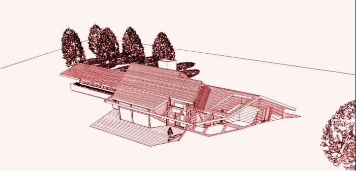 Maison BBC en cours de réalisation dans la Nièvre : architecte maison bois 9