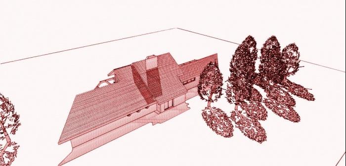Maison BBC en cours de réalisation dans la Nièvre : architecte maison bois 10