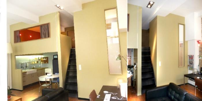 Démolition / rénovation contemporaine / réorganisation d'un appartement : apres