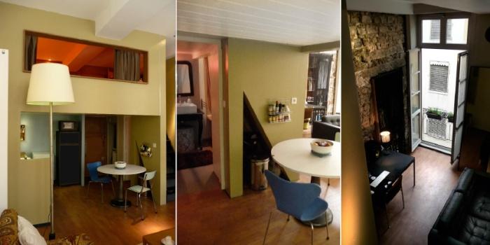 Démolition / rénovation contemporaine / réorganisation d'un appartement : projet_lieu4