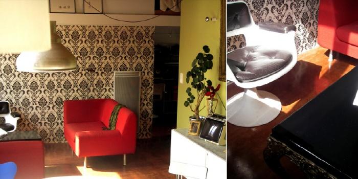 Conception / aménagement Contemporaind'un appartement Canut : projet_lieu9