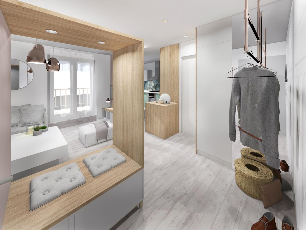 Rénovation d'un appartement de 65m²