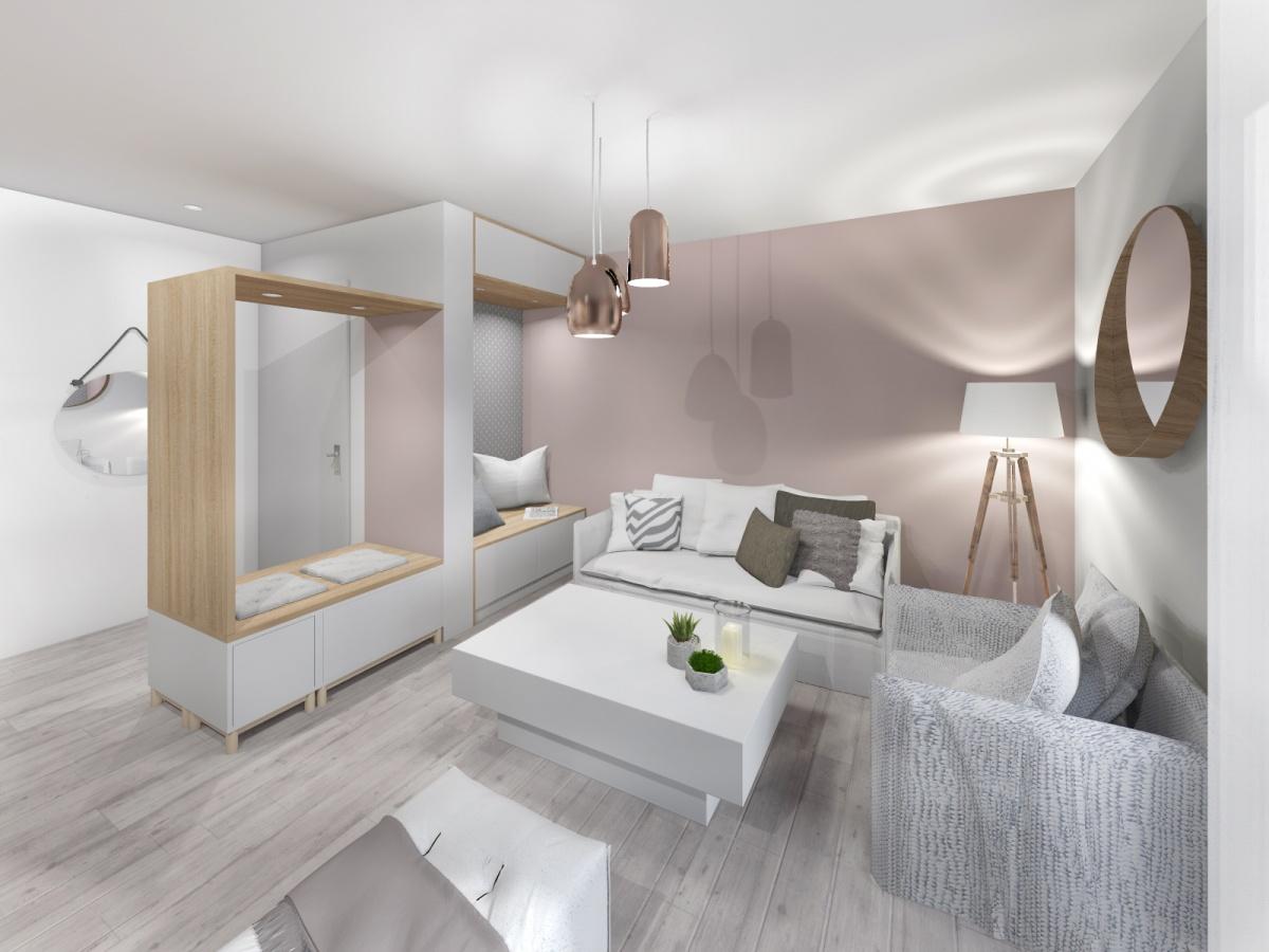 Rénovation d'un appartement de 65m² : salon